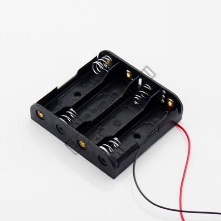 2164A 4-es AA elem tartó