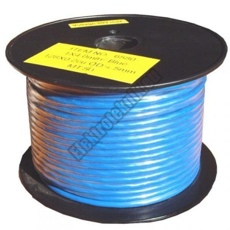 6576 2,5mm2 1 eres réz vezeték kék