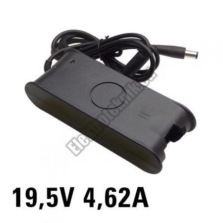 7937 Notebook tápegység Dellhez 19,5V 4,62A