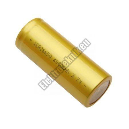 92864 Li-ion akkumulátor 4Ah 26650