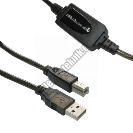 18007 USB aktív nyomtató kábel 10m