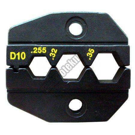 1PK-3003D10 Krimpelő fej F csatlakozóhoz
