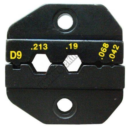 1PK-3003D9 Krimpelő fej RG-58 és RG-59 kábelhez