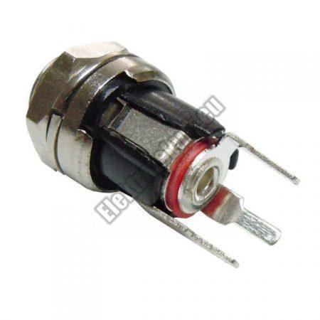 2114TW DC aljzat 5,5 x 2,1mm beépíthető.