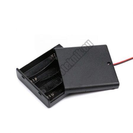 2146 4-es AA elem tartó beépített kapcsolóval