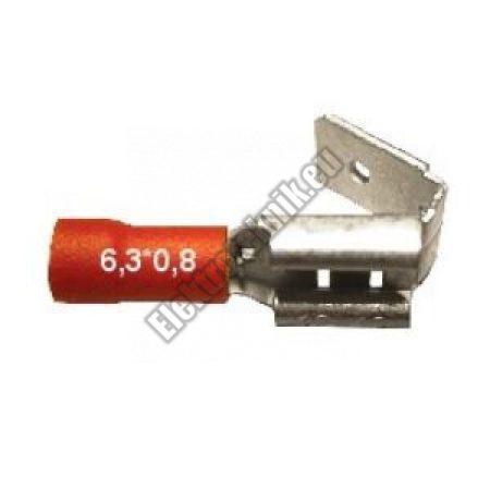 2347 csúszósaru aljzat - csap 6,3mm
