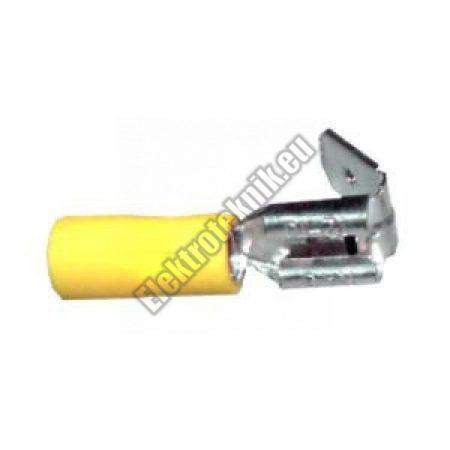 2349 csúszósaru aljzat - csap 6,3mm