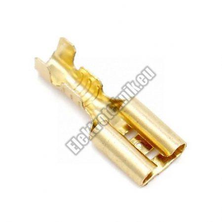 2397 csúszósaru aljzat 6,3mm