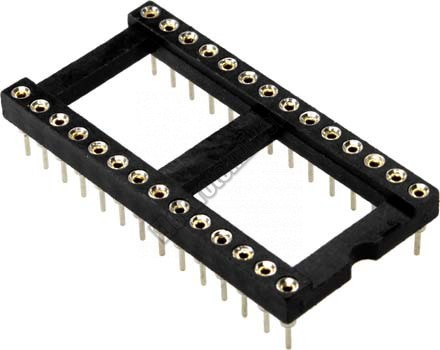 2807 28 lábú IC foglalat