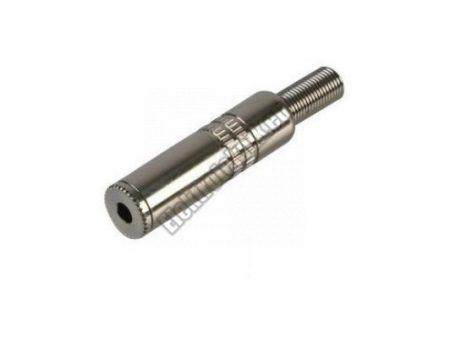 4063B JACK aljzat 6,3mm sztereo.
