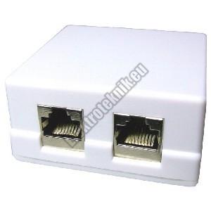 5035 FTP CAT6 dupla fali aljzat.