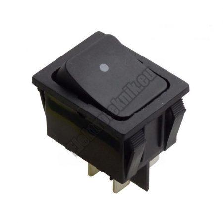 5432CF 2ák.4p.2áll.Billenő kapcsoló.250V/15A.