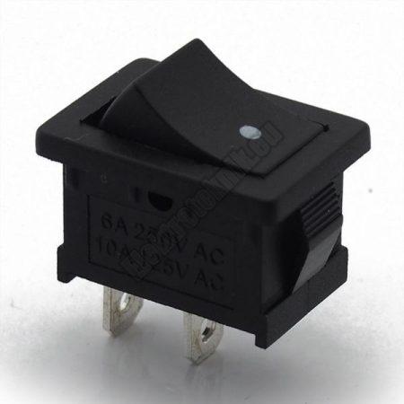 5546C 1ák.2p.2áll.Billenő kapcsoló.250V/6A.