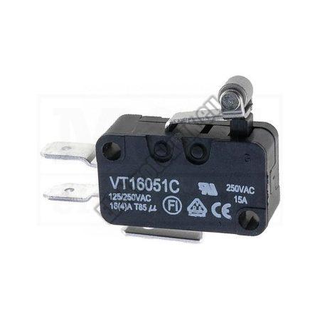 5563 1ák.3p.2áll.Mikro kapcsoló.250V/16A.