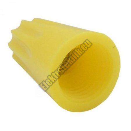 5891AD Kábel összekötő P74 sárga