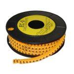 5893AA-6 Kábel jelölő 6-os 1,5-3mm2