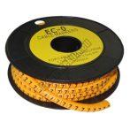 5893AC-7 Kábel jelölő 7-es 3,6-7,4mm2