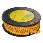 5893AC-9 Kábel jelölő 9-es 3,6-7,4mm2