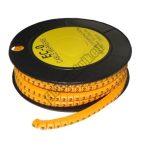 5893AD-2 Kábel jelölő 2-es 6mm2