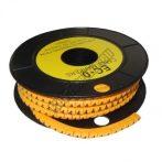 5893AK-4 Kábel jelölő 4-es 4-6mm2