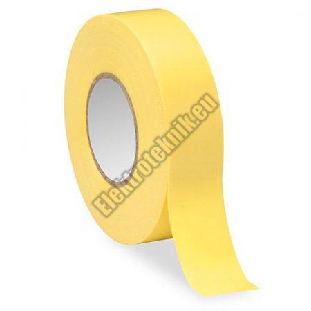 5929 TGR-POWER szigetelő szalag 10m, sárga