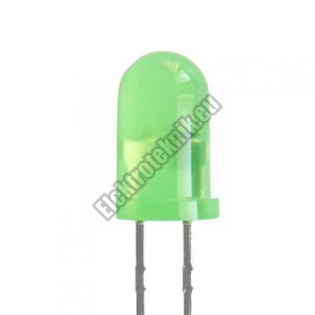 6020 5mm zöld villogó LED.