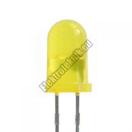 6037 5mm sárga villogó LED.