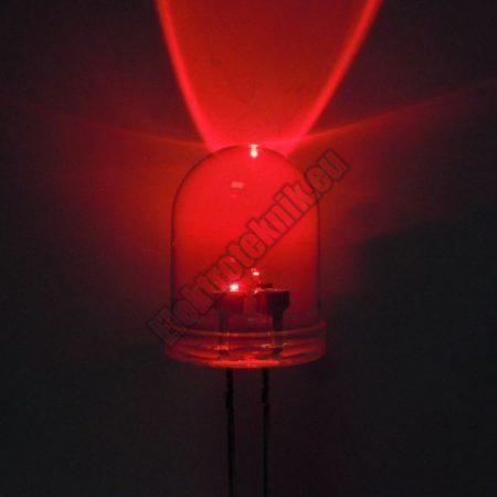 6055 8mm piros LED.