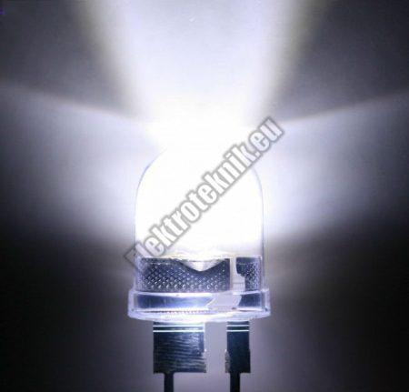 6058 8mm fehér LED.