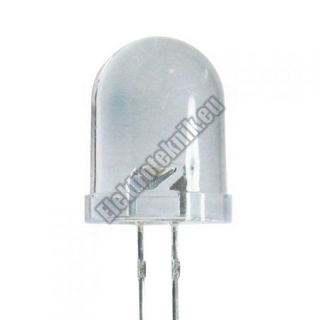 6061 10mm-es fehér led