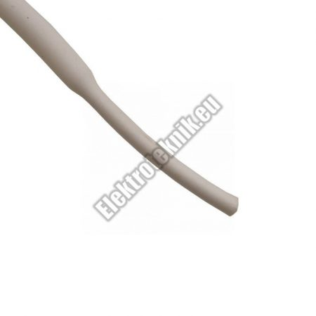 6102FH 2mm-es zsugorcső, fehér
