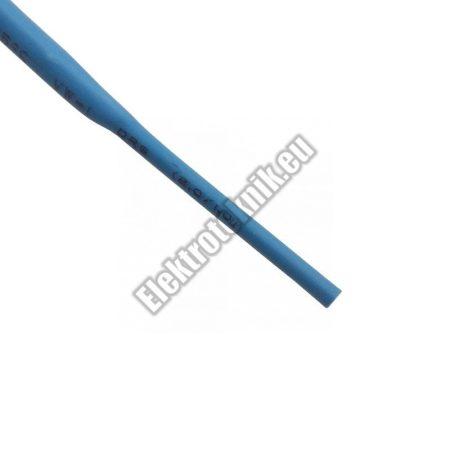 6102KK 2mm-es zsugorcső, kék