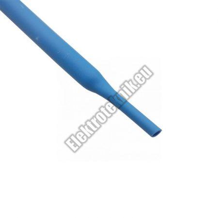6104KK 4mm-es zsugorcső, kék