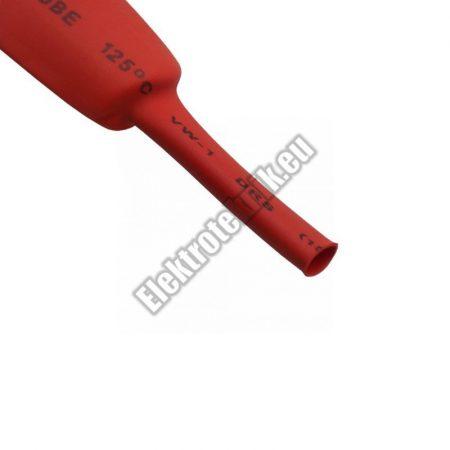 6115PS 15mm-es zsugorcső, piros