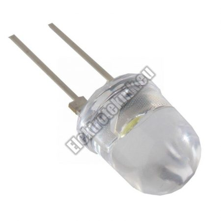 62258 10mm fehér LED