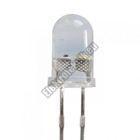 6404 5mm villogó LED fehér