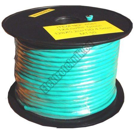 6581 4mm² 1 eres réz vezeték zöld