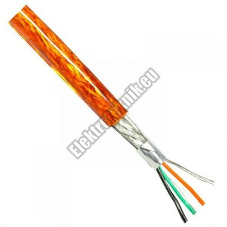 6601 Árnyékolt kábel piros