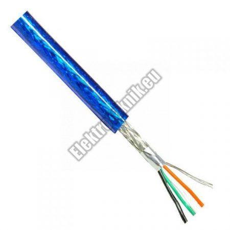 6602 Árnyékolt kábel kék