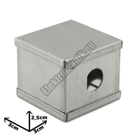7201 Ónozott fém doboz 30*30*25mm