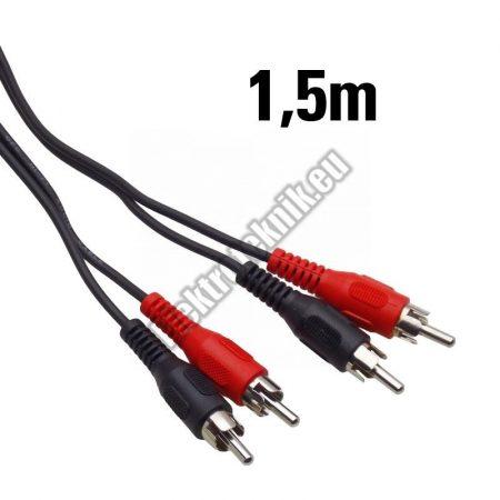 7553B-1-5 RCA kábel 1,5m