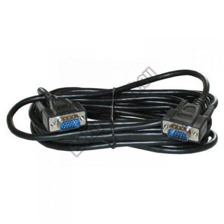 7593-PP-5 VGA kábel 5m árnyékolt fekete