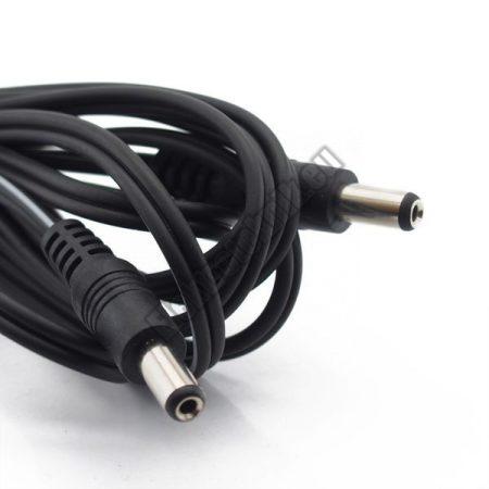 7600C 5,5/2,1/11mm DC dugókkal szerelt kábel.