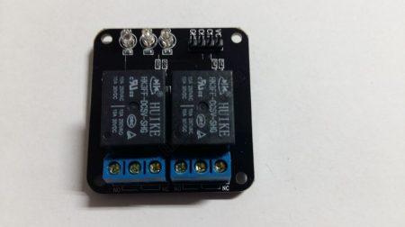 92663 2 csatornás 5V  Relé panel