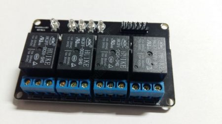 92664 4 csatornás 5V Relé panel
