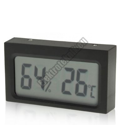 92691 Mini LCD hő-páramérő