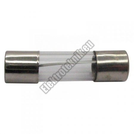 B0.16A-5x20mm Gyors kiolvadású üvegcsöves biztosíték.