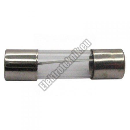 B12A-5x20mm Gyors kiolvadású üvegcsöves biztosíték.