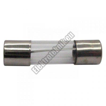 B6.3A-5x20mm Gyors kiolvadású üvegcsöves biztosíték.