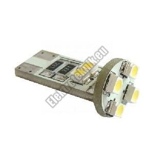 CBT10-3528M8 Hideg fehér autós LED izzó pár (T10)
